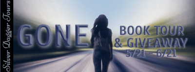 Gone Book Tour & $20 Amazon Giveaway 5/21 - 6/21