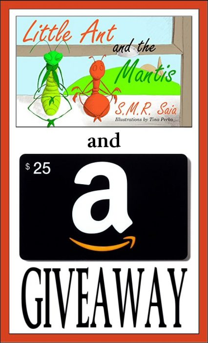 Autographed Little Ant and the Mantis $25 Amazon Giveaway