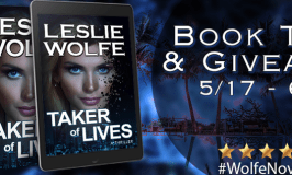 Taker of Lives Book Tour & $100 Amazon Giveaway 5/17 – 6/17