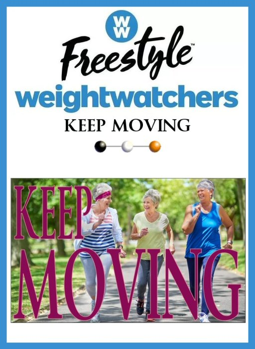 WW Tall 16 Weight Watcher's FreeStyle Weight Loss Journey KEEP MOVING