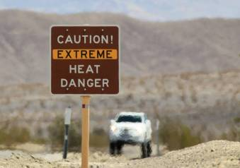 Exercise In The Summer Heat - Caution Extreme Heat Danger