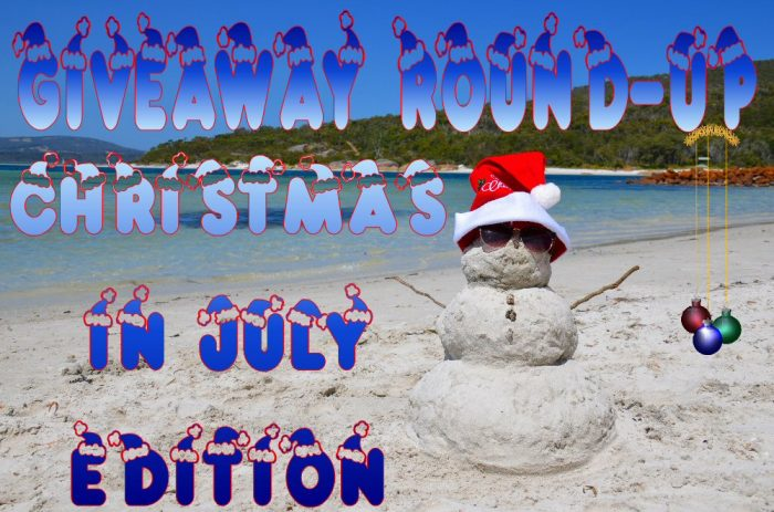 Monthly Giveaway Round-up Christmas In July Edition