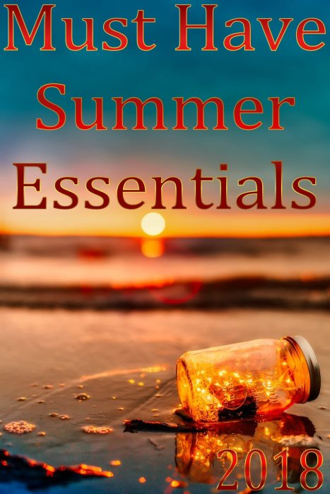 Must Have Summer Essentials for 2018 - Summer Fairy Lights in Mason Jar on Beach