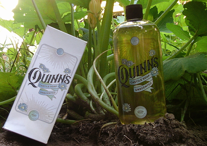 Love the Clean with Quinn's UNSCENTED Castile Soap