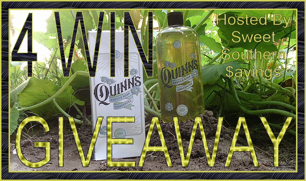 ๐৹ₒ॰°? 4 Win the Quinn's Castile Soap Love the Clean Giveaway when it Ends 7/15 ?॰°ₒ৹๐ #Win #Giveaway #Contest #Prize #GiveawayAlert #ContestAlert #Sweeps #Sweepstake #Sweepstakes #AllNatural #Castile #Soap #Clean