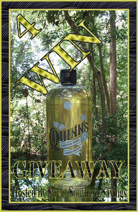 Quinn's Castile Organic Liquid Soap Giveaway image