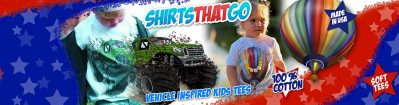 Let Them Wear Their Big Truck Giveaway from Shirts That Go
