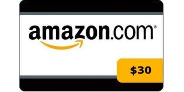 $30 Amazon Gift Card