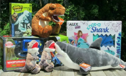 Enter to Win $140 in Sharks & Dinos Prizes in this Summer Fun Giveaway before it ends 8/16
