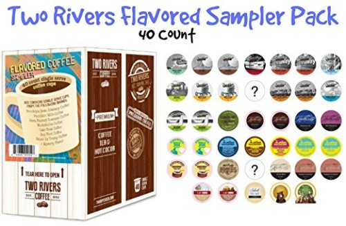 Win a 40-Count Sampler Box of Two Rivers Flavored Coffee and Enjoy Coffee That Isn't Like All The Rest!