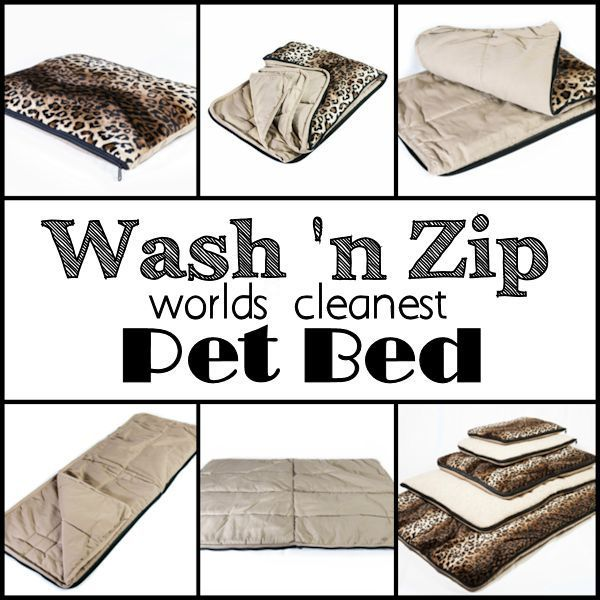 When this back to school gift guide Wash 'n Zip Pet Bed giveaway ends 8/6 one lucky winner will receive their choice of size/fabric of pet bed! Wash 'n Zip Pet Bed - The World's Cleanest Pet Bed