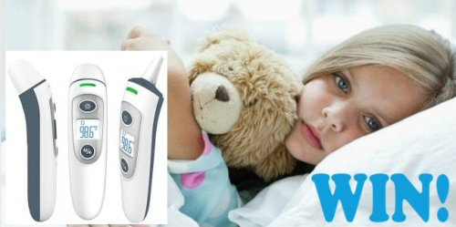 3 Win a Digital Dual-Mode Thermometer when the Take Their Temperature The Easy Way Giveaway ends.