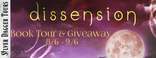 Dissension Book Tour $20 Amazon Gift Card Giveaway Ends 9/6