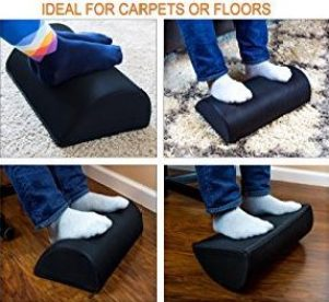 ⚕️ Are your feet tired and sore? Does your back hurt? This Ergonomic Footrest ? may be your ticket to HAPPY FEET and BACK