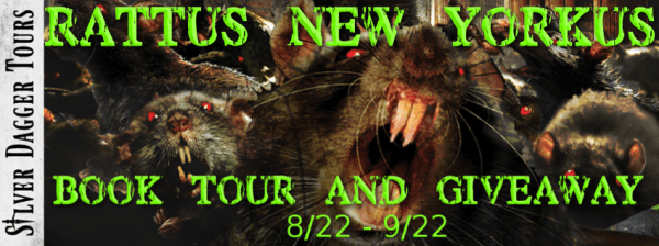 Sweet Southern Savings is hosting today's blog tour stop for Hunter Shea's Rattus, New Yorkus Book Tour. Stop by for more about this book, the author, and a tour-wide giveaway! #Win #Winit #Winning #Sweeps #Sweepstake #Sweepstakes #Contest #ContestAlert #Competition #Giveaway #GiveawayAlert #Prize #Amazon #BookTour #Book #Read