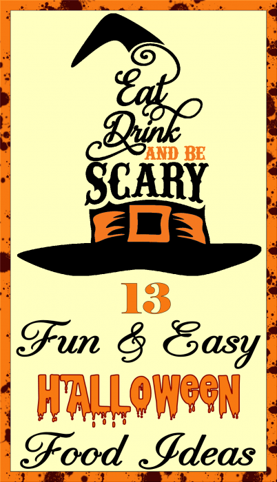 13 Fun & Easy Halloween Food Ideas - Eat, Drink and Be Scary Witches Hat