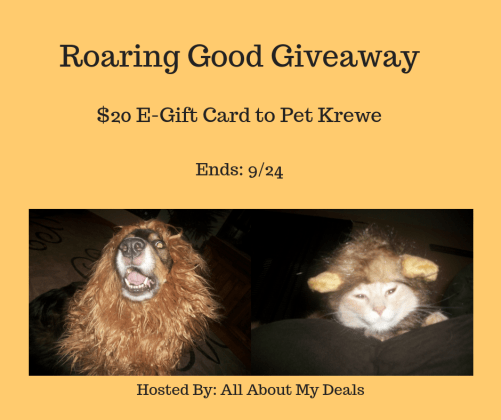 Pet Krewe giveaway header image