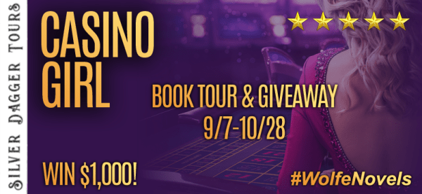 Casino Girl Book Tour $1000 Gift Card Giveaway Ends 10/28 - Sweet Southern Savings is hosting today's blog tour stop for Leslie Wolfe'Casino Girl Book Tour.Stop by for more about this book, the author, and a tour-wide giveaway! #Win #Winit #Winning #Sweeps #Sweepstake #Sweepstakes #Contest #ContestAlert #Competition #Giveaway #GiveawayAlert #Prize #Amazon #BookTour #Book #Read
