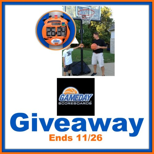 GameDay Basketball Scoreboard Giveaway Ends 11/26