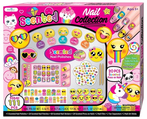Enter To Win a Non-Toxic Kids Nail Art Kit! Giveaway Ends 10/28