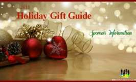 Sponsor Information for our 2018 Holiday Gift Guide
