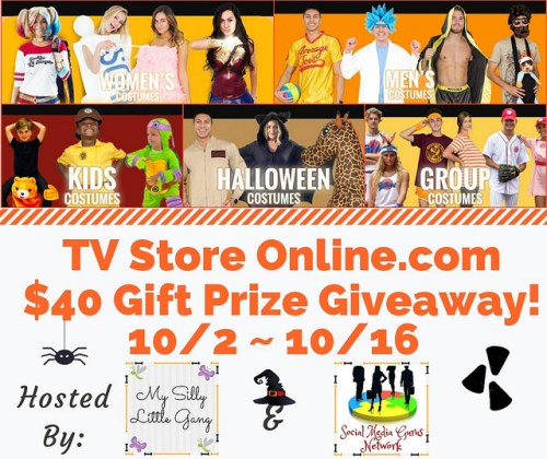 TV Store Online $40 Gift Prize Giveaway Ends 10/16