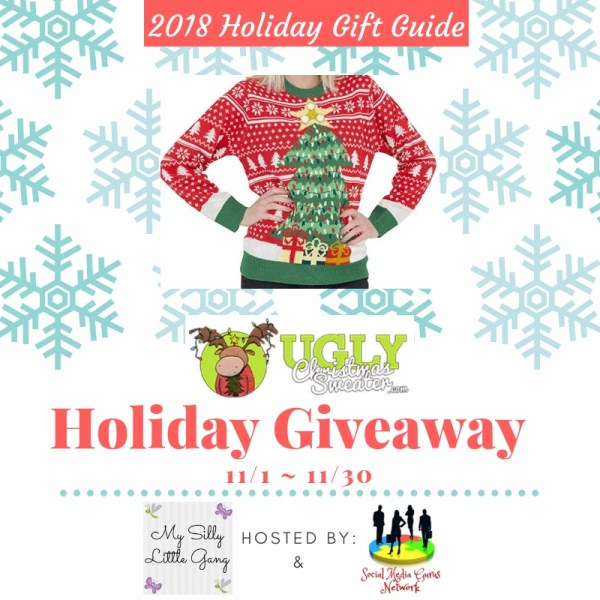 Enter Today If You Want To Be The Lucky Reader Who Will Receive a Sweater of Their Choice Priced at $40 or Less To Wear This #Holiday Season When This #Gift Guide #Giveaway Ends 11/30. #SMGN #GiftGuide #Win #Winit #Sweeps #ContestAlert #GiveawayAlert #Prize #Free #Christmas