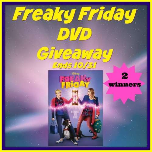 2 Win This Freaky Friday DVD Fall Giveaway When It Ends 10/31