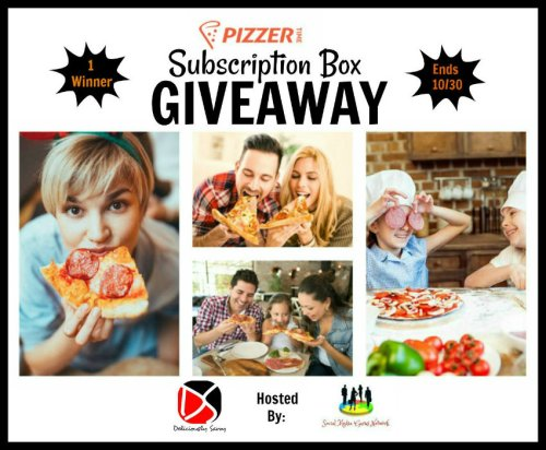 Pizzer Time Pizza Subscription Box Fall Giveaway Ends 10/30