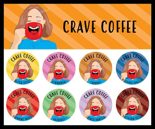 Crave has the #coffee flavors that you'll keep on Cravin'! #review #trc