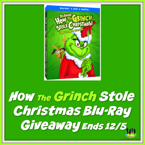 How The Grinch Stole Christmas Blu Ray.How The Grinch Stole Christmas Blu Ray Giveaway Ends 12 5