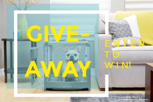 Enter to Win a Revol Pet Crate by Diggs for the Fur Buddy on Your Gift List When This Giveaway Ends 10/28 (APV $224) #Win #Winit #Sweeps #Sweepstake #Giveaway #GiveawayAlert #Prize #Free #Gift #GiftsforPets #EntertoWin