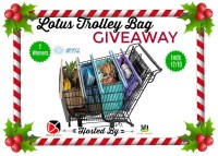 Enter for a chance to be one of two lucky readers who will #Win Lotus Trolley Bags Worth $35 When This #Holiday #Gift Guide #Giveaway Ends 12/10. #Sweeps #GiftGuide #Prize #Free #Sweepstake #Winit #Christmas