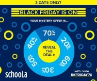 HUGE BLACK FRIDAY SALE! SAVE 70% at SCHOOLA.COM #PasstheBag #SchoolaStyle #BlackFriday #Shopping #Deal #Deals