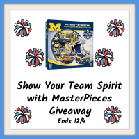 One lucky reader will be showing their team spirit with a MasterPieces Helmet Shaped Jigsaw Puzzle when this #Holiday #Gift Guide #Giveaway ends 12/4. #Win #SMGN #GiftGuide #Win #Winit #Sweeps #ContestAlert #GiveawayAlert #Prize #Christmas