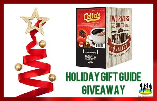You can #Win a 40 count box of Cella's Chocolate Cherry Single Serve #Coffee when this Holiday Gift Guide #Giveaway Ends 12/15. #Winit #GiftGuide #Gift #Free #Prize