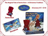 Enter Today For A Chance To Win a Hard Copy Of The Magical Tale of Santa Dust - A Christmas Tradition Along With a Magical Pouch When This Giveaway Ends 12/10. #Giveaway #GiveawayAlert #Prize #Free #Gift #Holiday #Christmas