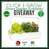One lucky reader will #win a Click and Grow Smart Garden 9 worth $200 when this #Holiday #Gift Guide #Giveaway ends 12/16. #Sweeps #GiftGuide #Prize #Free #Sweepstake #Winit #Christmas