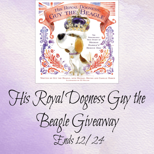 Enter for a chance to to be 1 of 2 who #Win His Royal Dogness Guy the Beagle when this #Giveaway ends 12/24. #GiveawayAlert #Prize #Free #Gift #Holiday