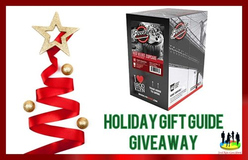 You can be 1 of 2 lucky readers who will #Win a 40 count box of Red Velvet Coffee Single Serve #Coffee when this Holiday Gift Guide #Giveaway ends 12/15.