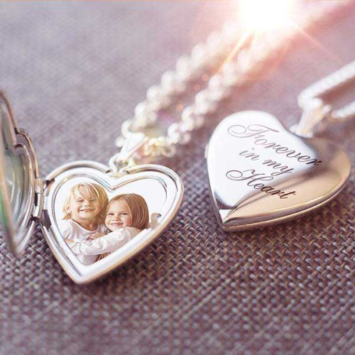 Enter to #Win a beautiful Sterling Silver Photo Locket when this #Valentine #Giveaway Ends 2/14