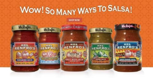 One lucky winner is going to #win their choice of 4 Mrs. Renfro's #salsa, relish or sauce when this Gourmet Foods Prize Pack #Giveaway ends 2/11.