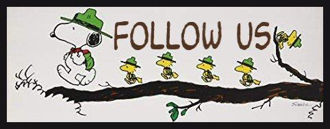 Snoopy Follow Us