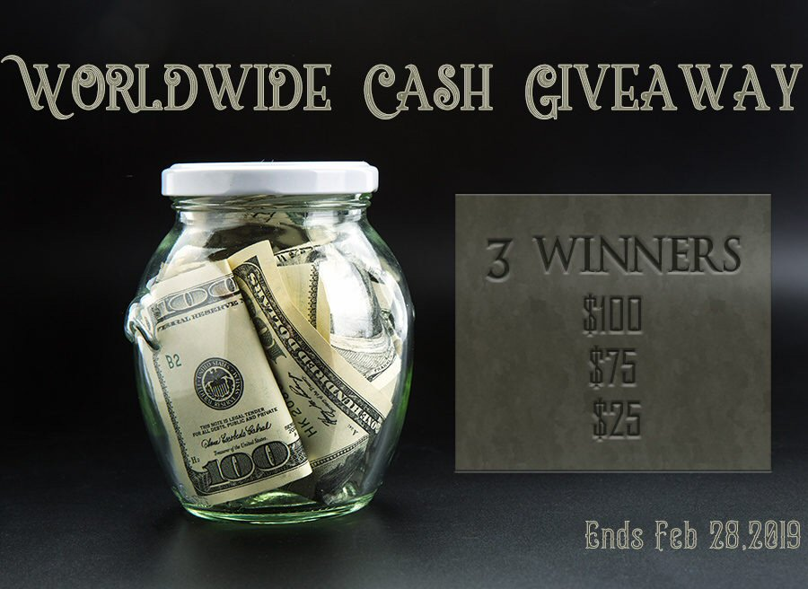 3 WIN This Worldwide Cash Sweepstakes When It Ends 2/28