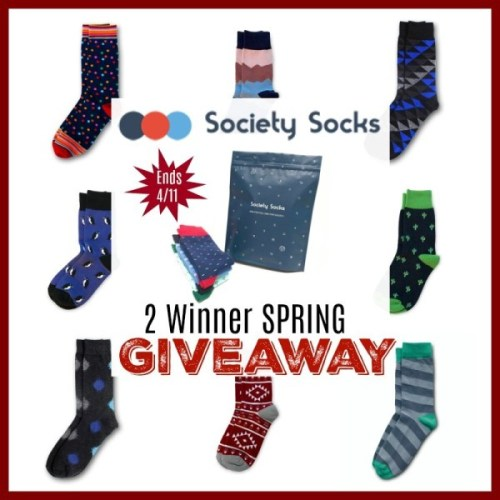 Enter to be 1 of 2 who will win a Society Socks 🧦 Subscription Package when this 💐 Spring/🐣 Easter Gift Guide #Giveaway ends 4/11 ~ Enter daily for extra chances to #win! https://www.sweetsouthernsavings.com/society-socks-spring-gift-guide-giveaway/