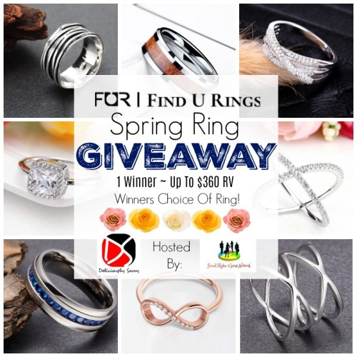 This 💐Spring/🐣Easter Gift Guide #Giveaway For Choice of Ring up to $360 Ends 4/21. #Spring #Easter #Jewelry #Winit #Contest