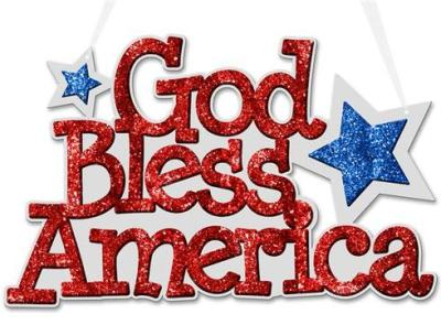 God Bless America - Patriotic Holidays and Patriotic Clothing - Show Your #Patriotism #USA #TheFlagShirt #ad