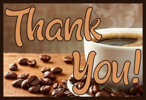 Thank You Coffee