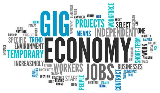 What's Next For The Gig Economy? Gig economy sometimes refers to the little odd jobs a lot of us now do simply to generate some supplemental income. And it's this that leads to some interesting questions about what might be next. #Gig #Economy #SideHustle #Money #MakingMoney #GigEconomy