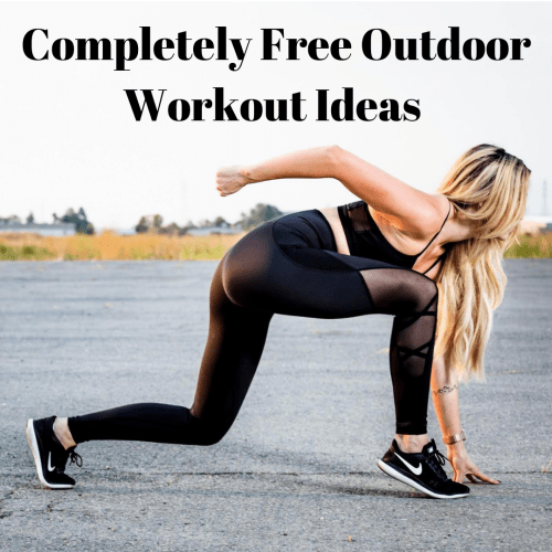 Can't Afford High Gym Prices? Check out these completely Free Outdoor Workout Ideas! #Fitness #Workout #Health #FrugalLiving #Free